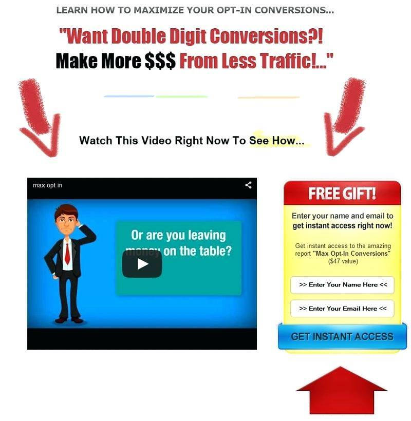 WordPress Video Squeeze Page Theme