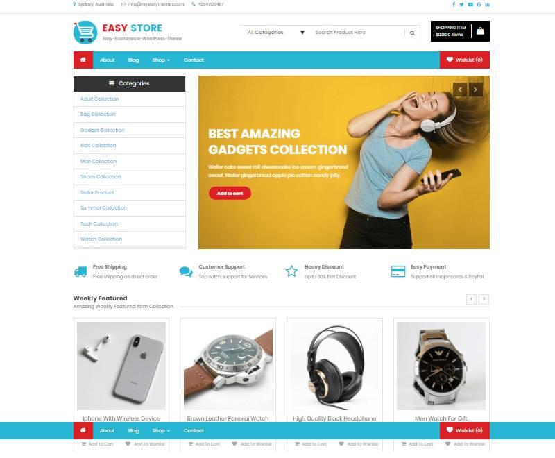 WordPress Woocommerce Templates