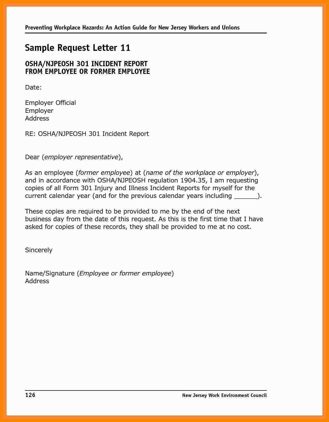 Workplace Incident Investigation Report Template