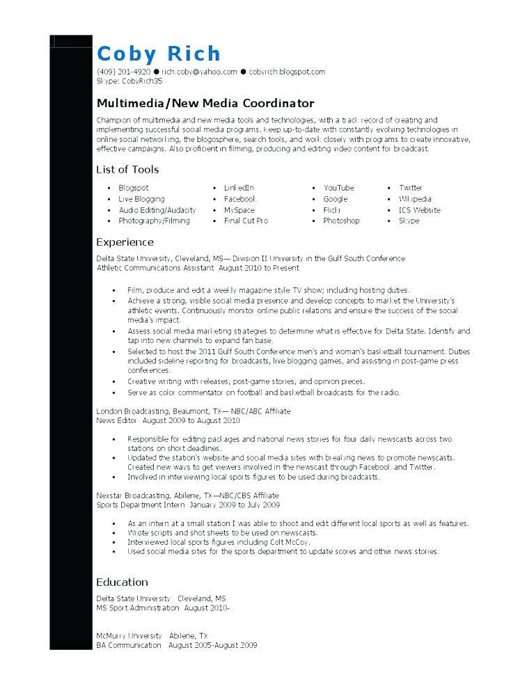 Wrestling Coach Resume Template