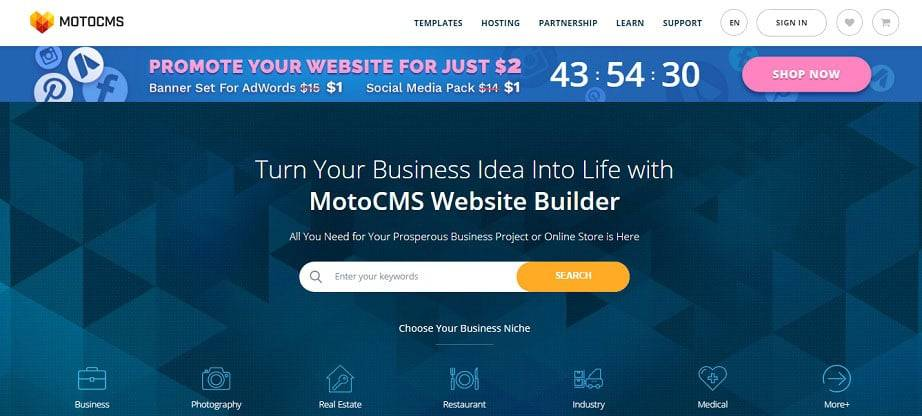 Wysiwyg Web Builder Ecommerce Template