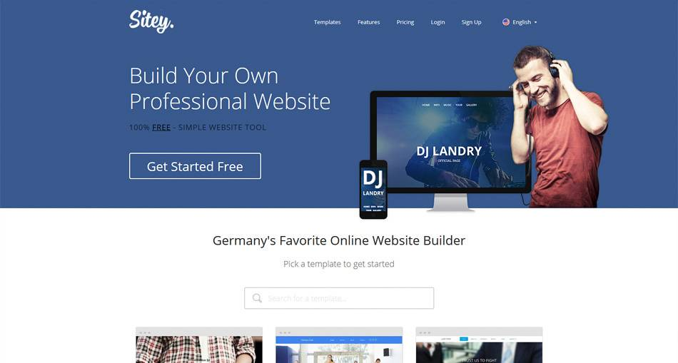 Wysiwyg Web Builder Mobile Template