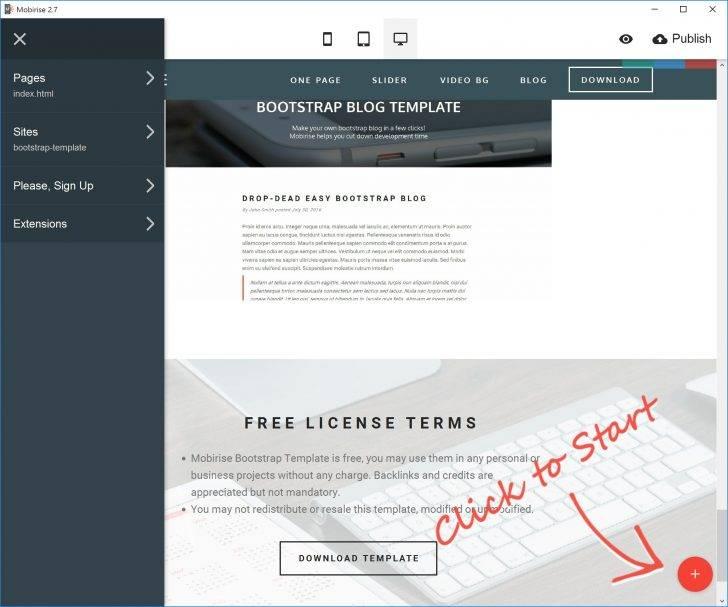 Wysiwyg Web Builder Template Free Download