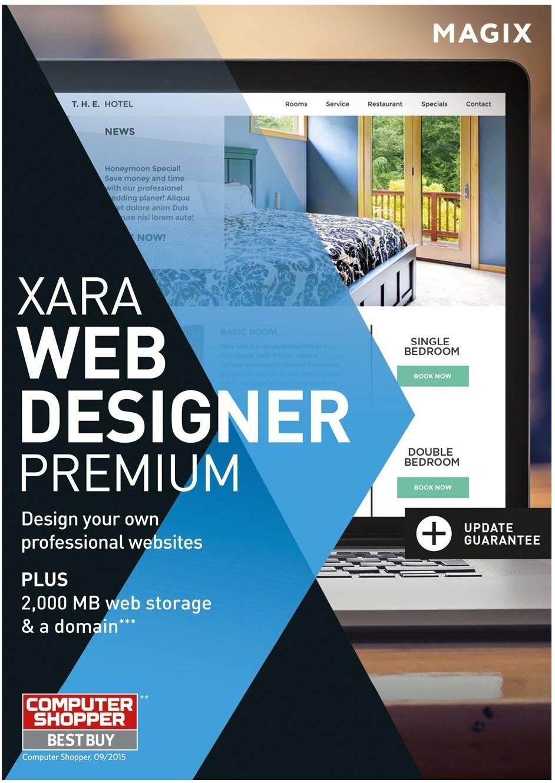 Xara Web Designer 12 Templates