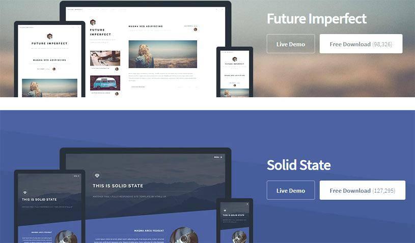 Xara Web Designer 9 Templates