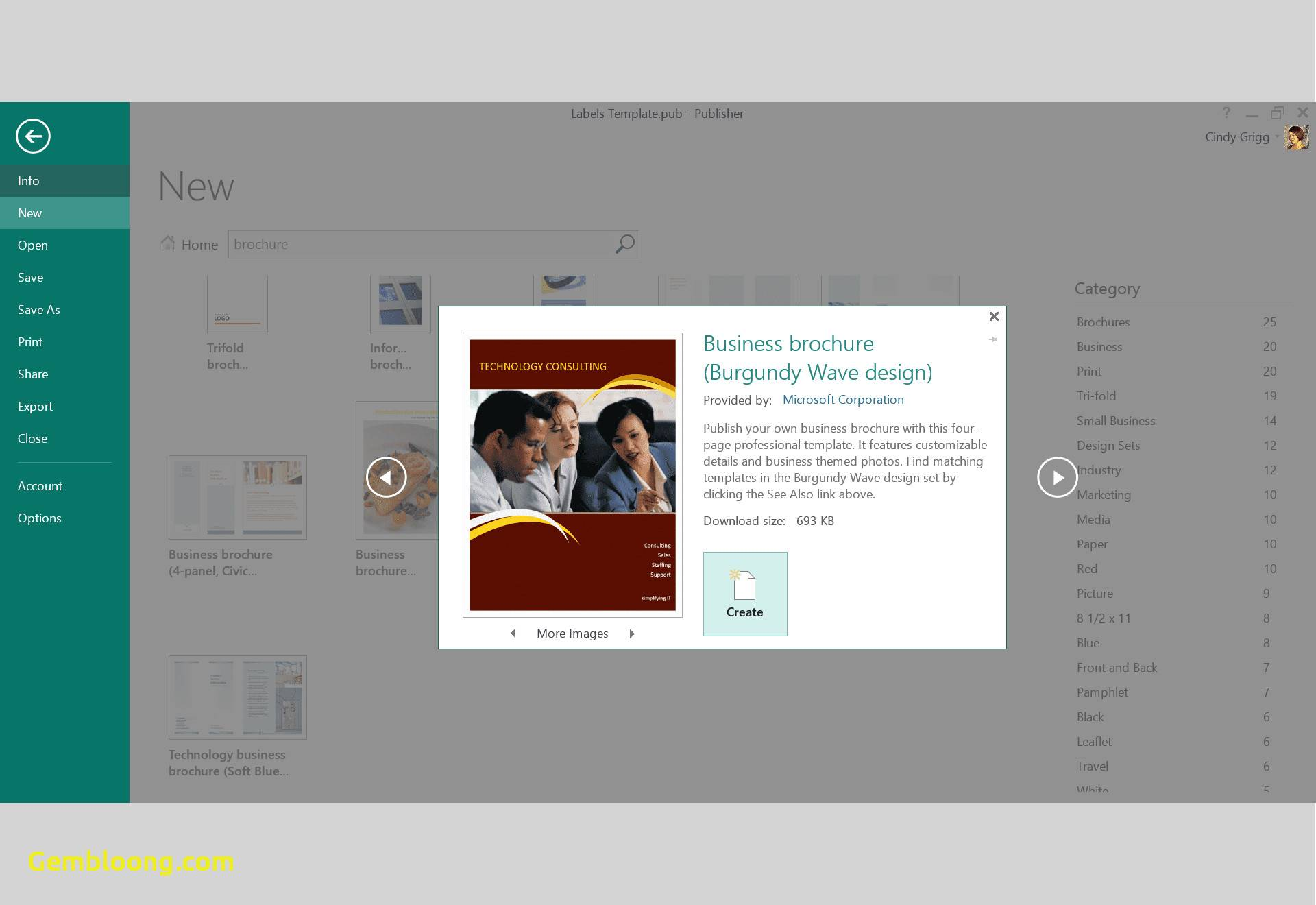 Xara Web Designer Template