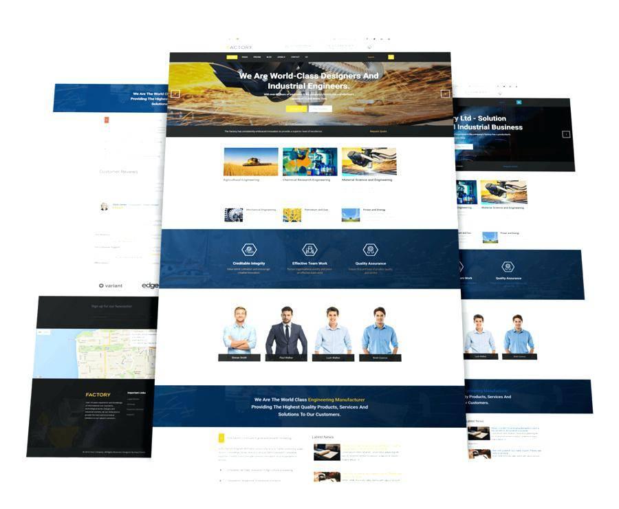 Xara Web Page Templates