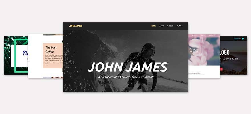 Xara Webdesigner Web Templates