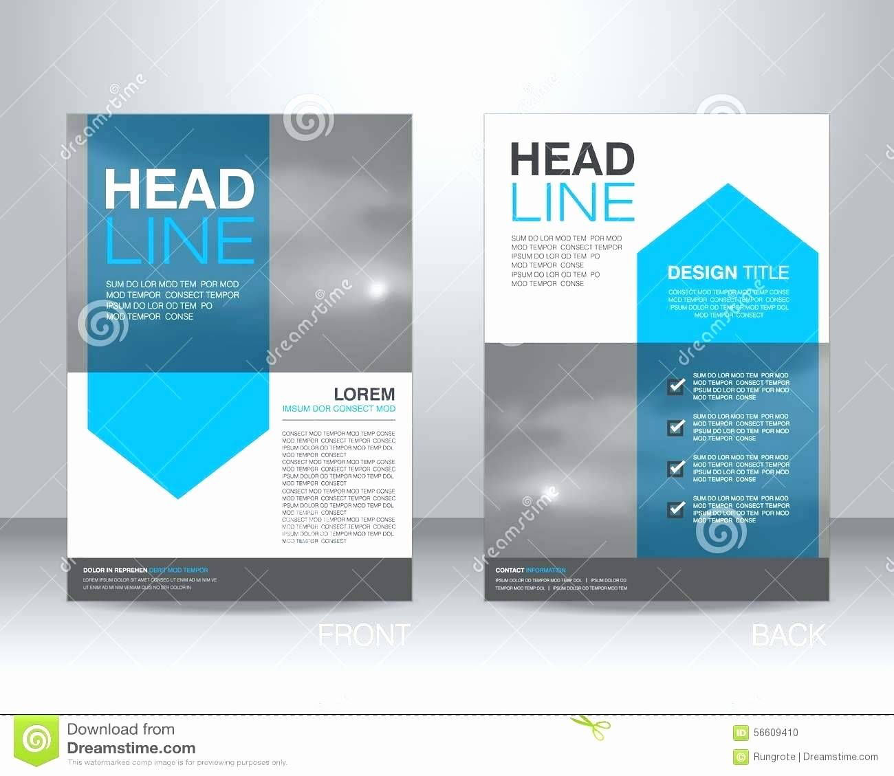 Yearbook Ad Design Template