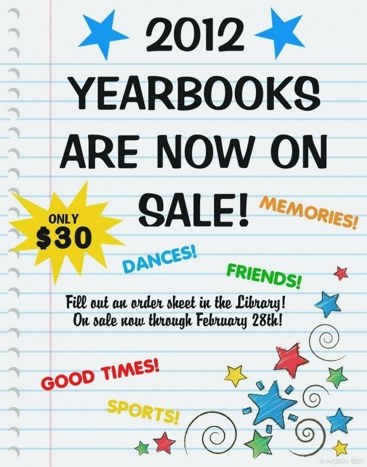 Yearbook Flyer Template