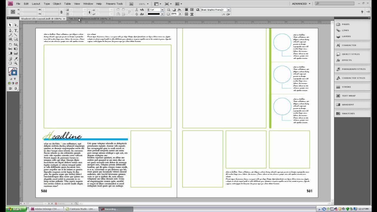 Yearbook Layout Indesign