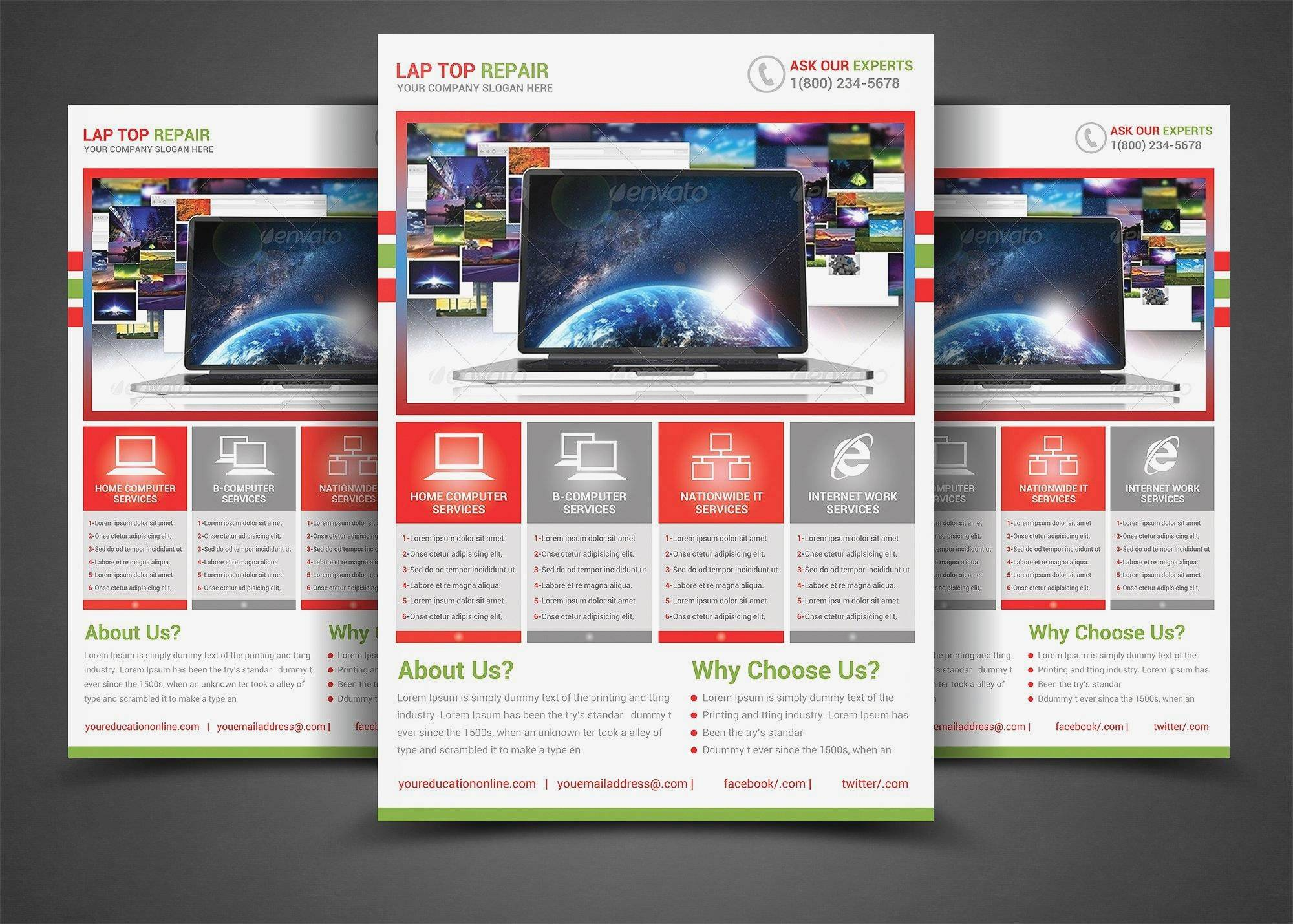 Yearbook Template Psd
