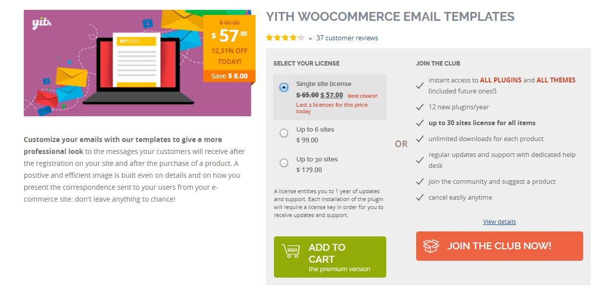 Yith Woocommerce Email Templates Nulled