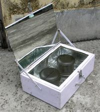 Simple Solar Cooker