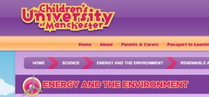 Children's University of Manchester screenshot