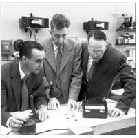 Inventors of solar cells at Bell Labs