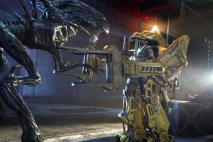 "Exosuit ""Power Loader"" first appeared in Aliens."