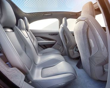 A glimpse of the I-PACE interior