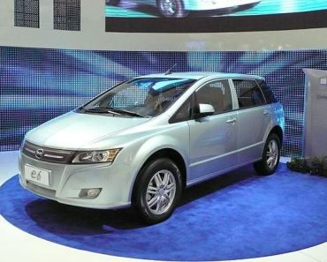 BYD e6 the show stopper