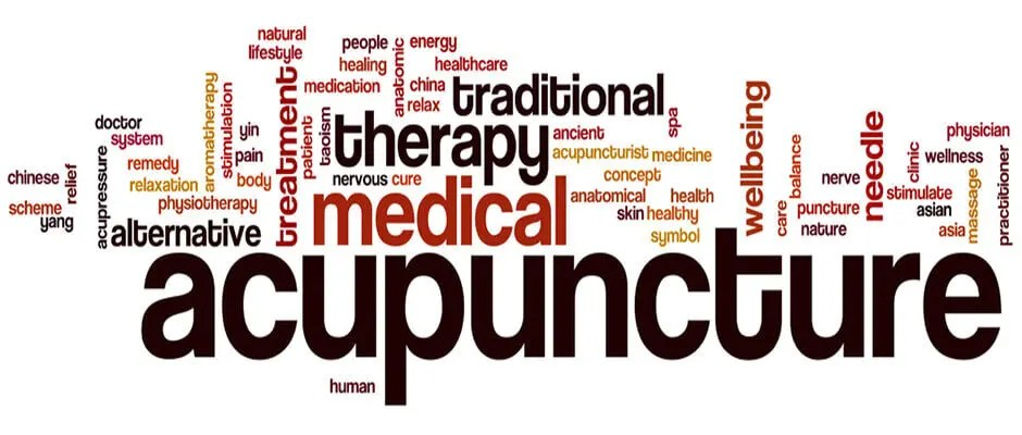 accupuncture word cloud