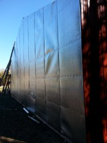New Facility radiant barrier installation.