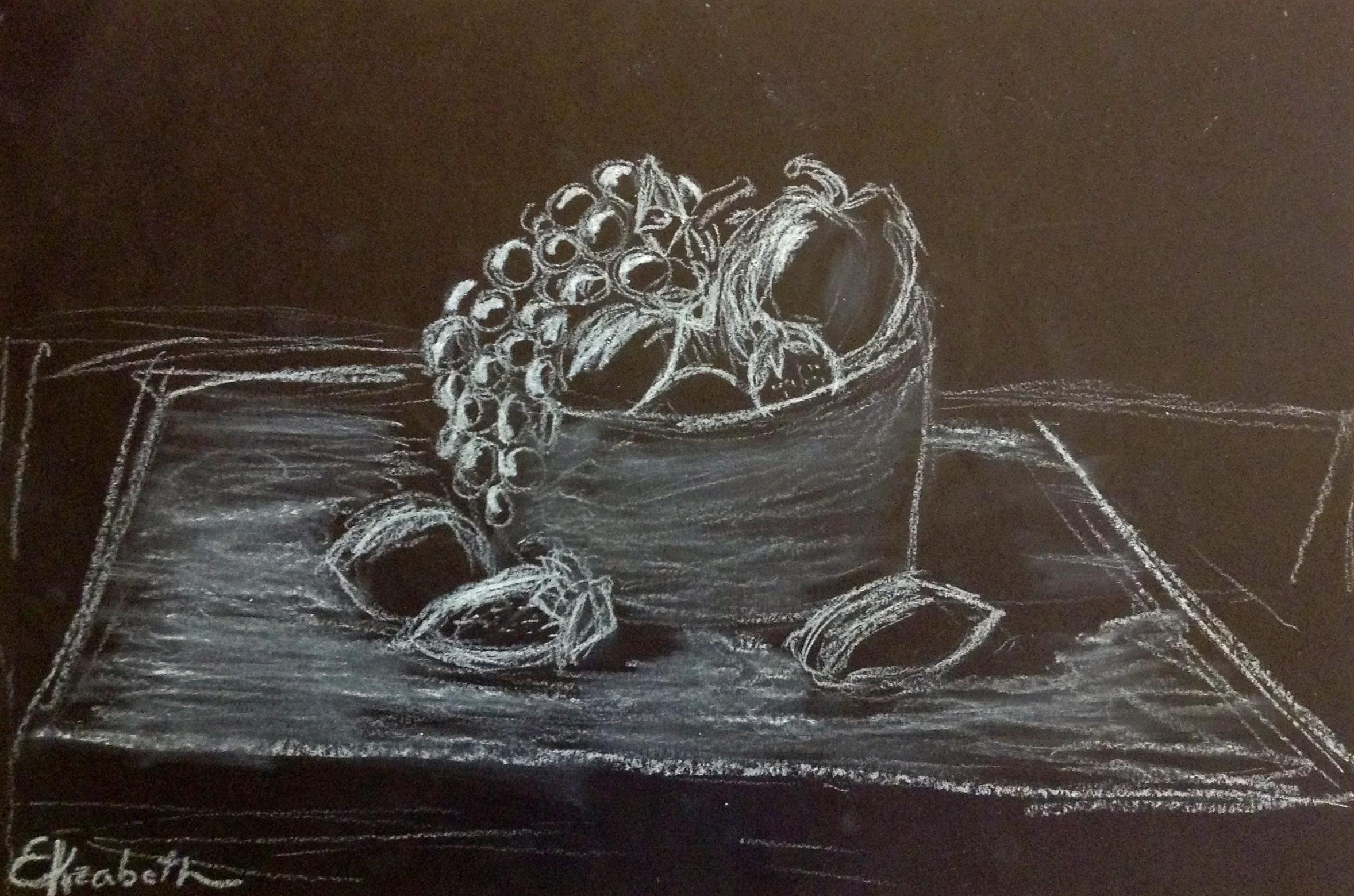 Chiaroscuro Still Life By 6th Grade Synergeyes