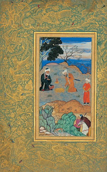 The Advice of the Aesthetic  by Bihzad