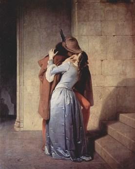 Il bacio (The Kiss) by Francesco Hayez