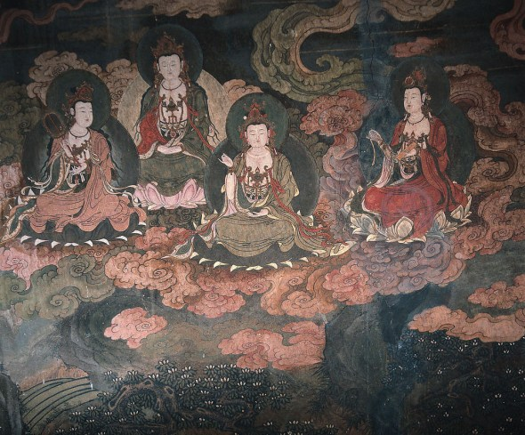 Tenth Century Mural, Magao Caves © Xuan Che with CCLicense