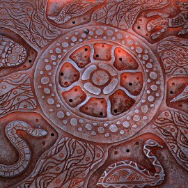 Manhole cover in Perth, Australia © Ole Reidar Johansen with CCLicense