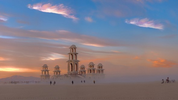 Temple of Transition, Burning Man 2011 © Michael Holden with CCLicense