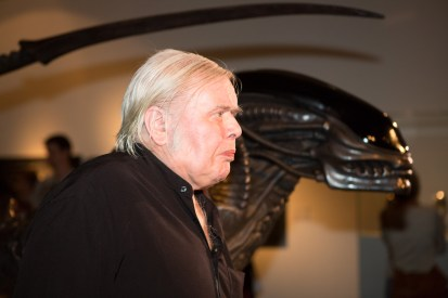 H.R. Giger and the Alien  © Ars Electronica with CCLicense