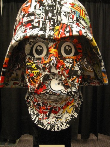 Collage Vader by Dalek image © The Official Star Wars with CCLicense