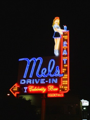 Mel's Drive-In, Hollywood image © Chuck Coker with CCLicense