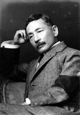 Natsume Soseki Public Domain Image