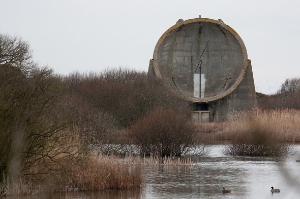 Acoustic Mirror, Denge, near Dungeness, Kent, UK © Miles Sabin with CCLicense