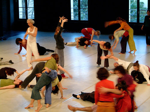 Contact Improvisation Jam © CIJam/Davidonet with CCLicense