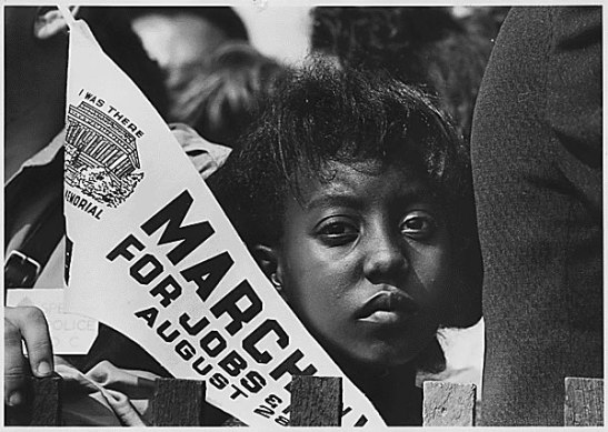 March on Washington, 1963 Public Domain Image by the US Information Agency via the National Archives