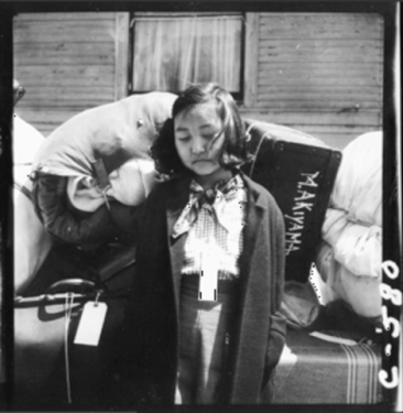 Tagged Girl, Oakland, CA, 1942