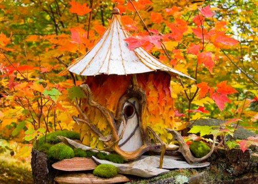 Autumn Fairy House © Sally J. Smith