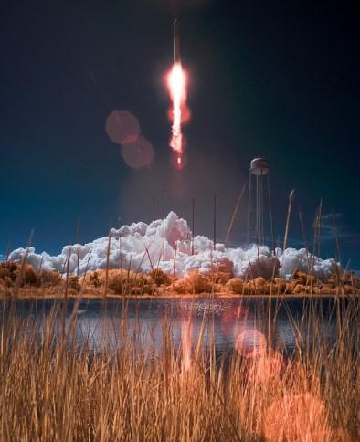 Antares Rocket with Cygnus Spacecraft Lanuches © NASA Goddard Space Flight Center with CCLicense