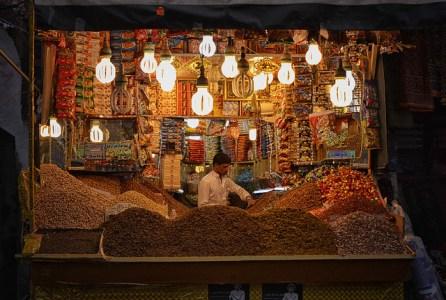 Market Stall, Sana'a