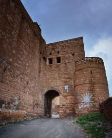 Entrance Kawkaban Fortress Town, Yemen