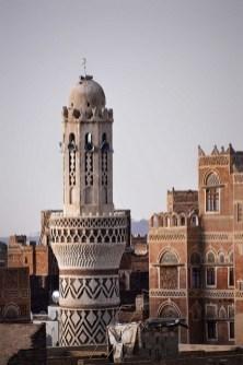 Mosque Minaret, Sana'a