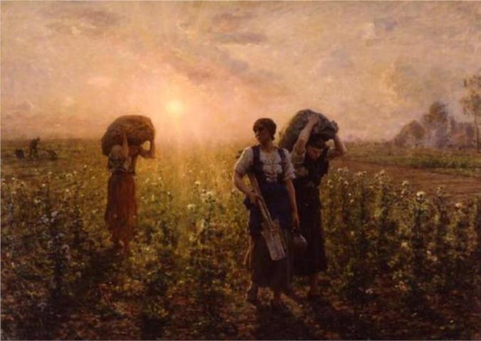 Breton, Fin du Travail, 1887