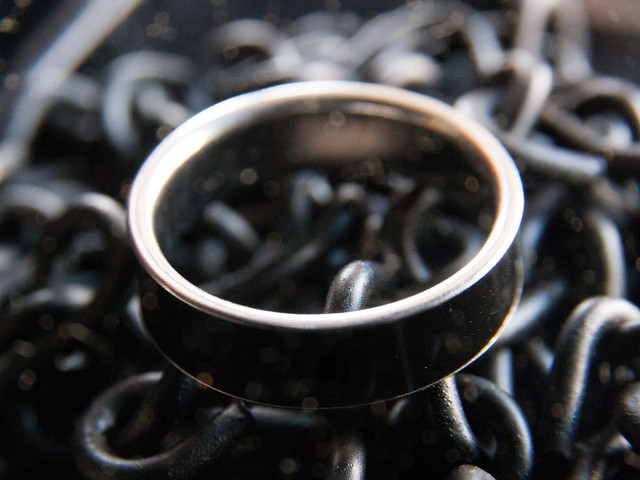 Black Mood Ring