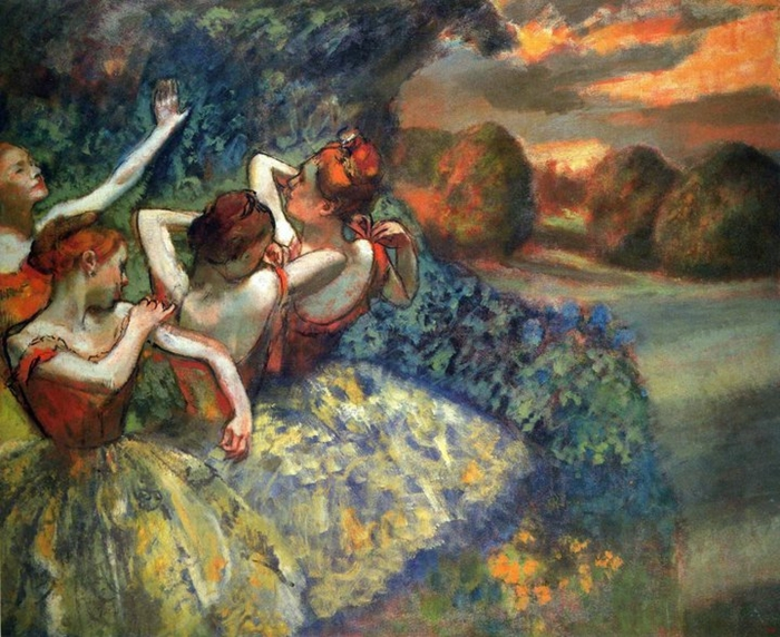 Edgar Degas - Ballet dancers - Tutt'Art@[1]
