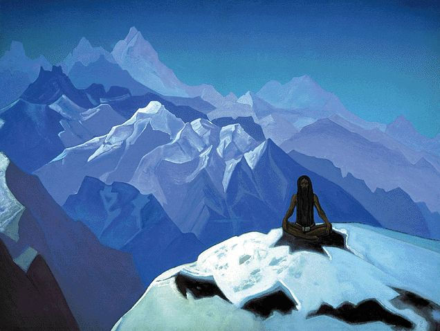 Roerich, On The Heights, Tummo