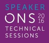 Speaker, ONS Technical Session