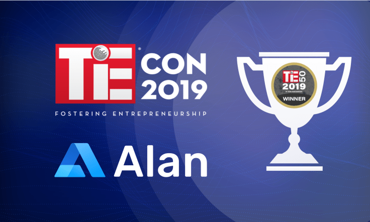 Alan is TiE50 Awards Winner 2019